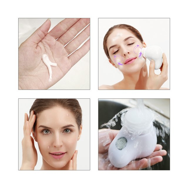 Waterproof Cleansing Brush (rechargeable)